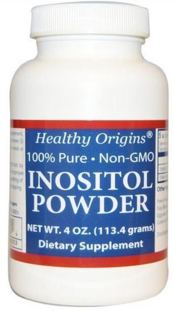 Inositol powder 113gm Anxiety, Depression, PCOS symptoms (USA)