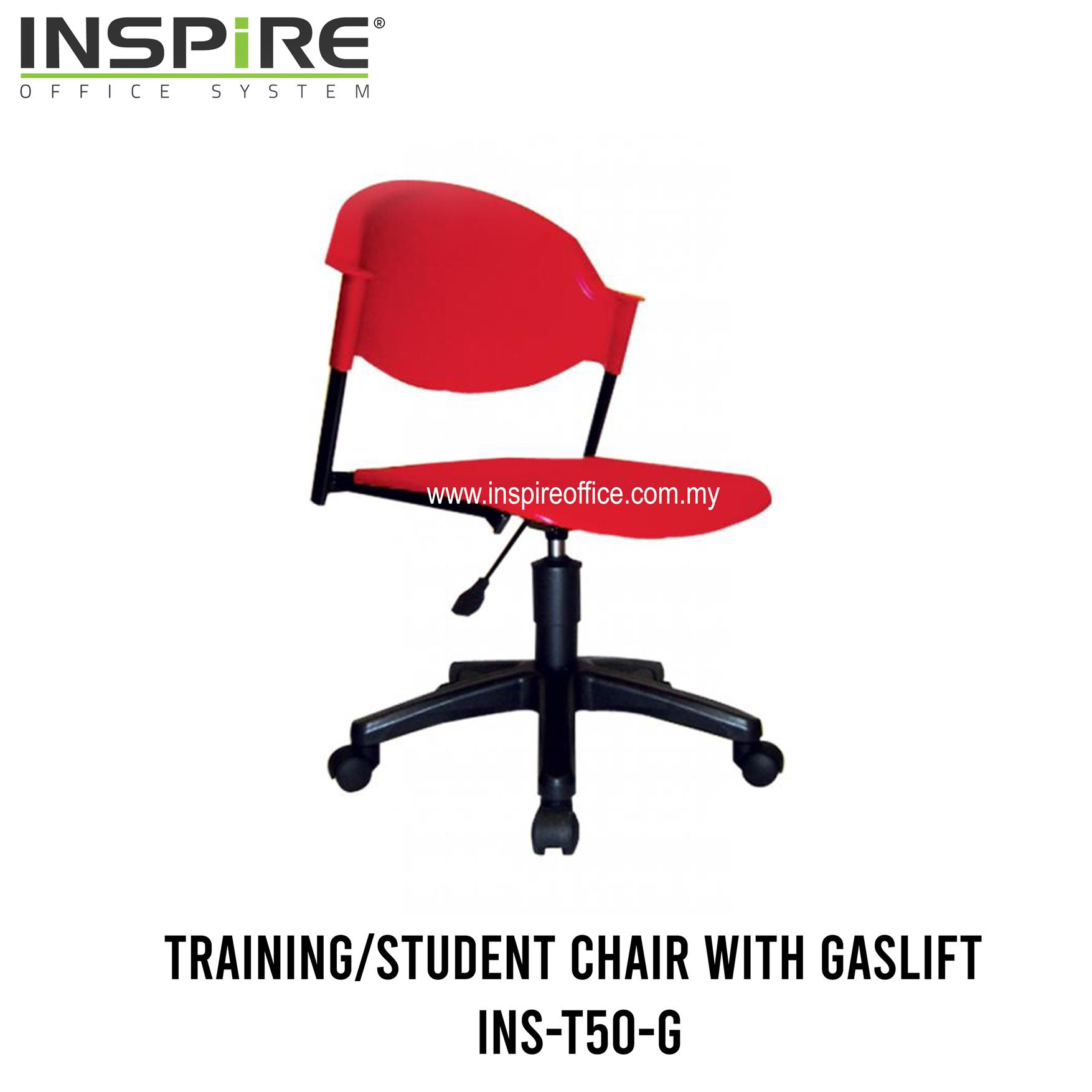 INS-T50-G Training/Student Chair With Gaslift