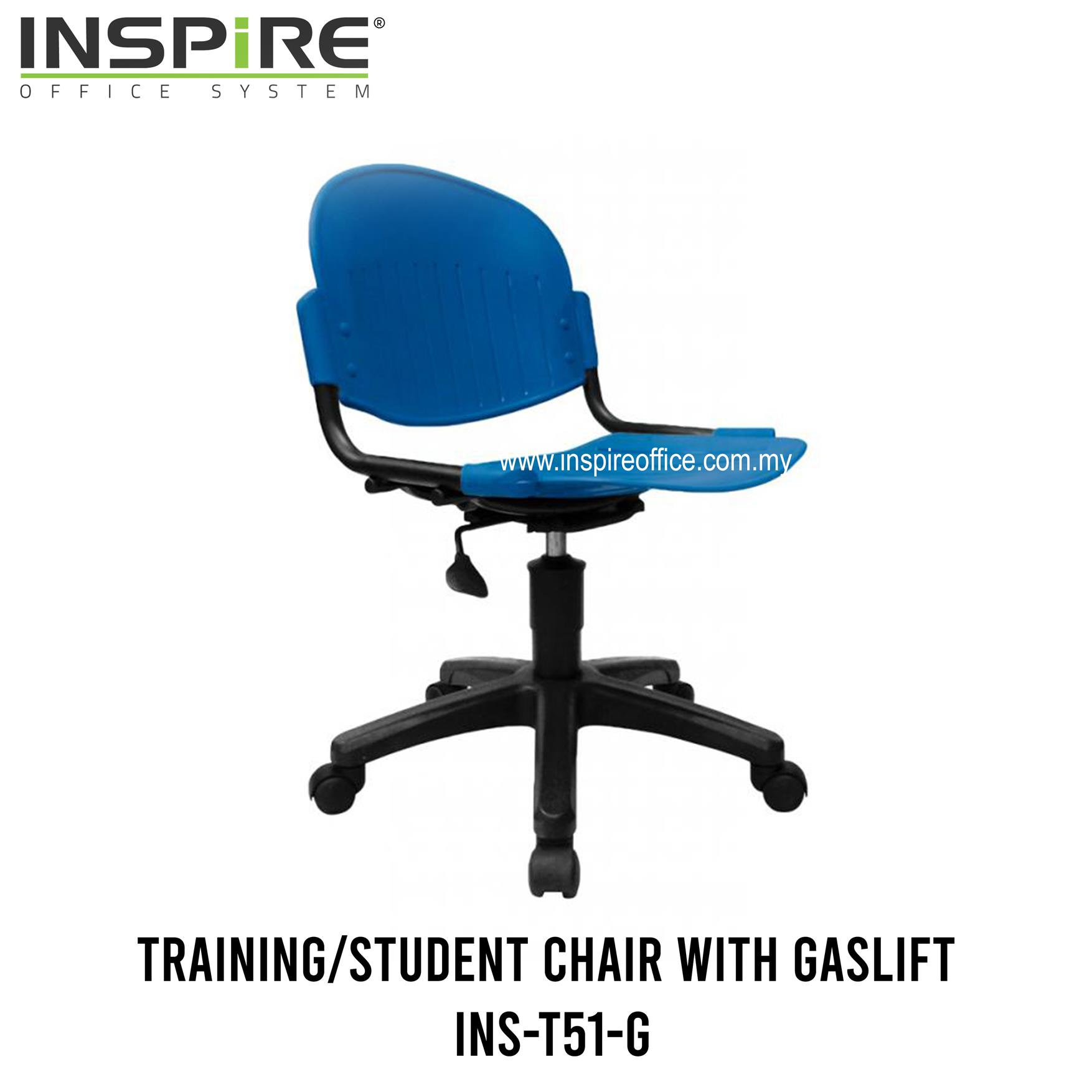 INS-T51-G Training/Student Chair with gaslift