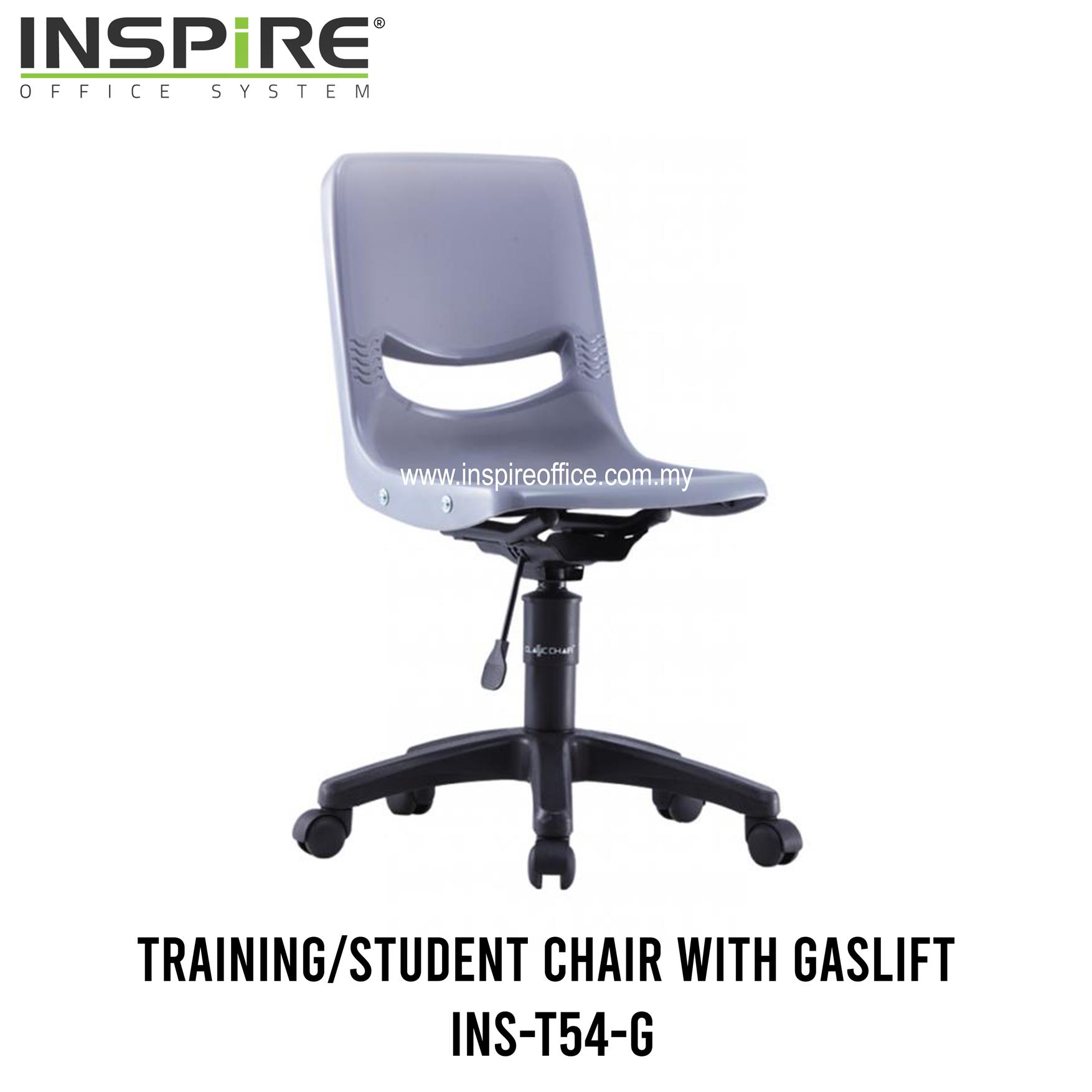 INS-T54-G Training/Student Chair With Gaslift