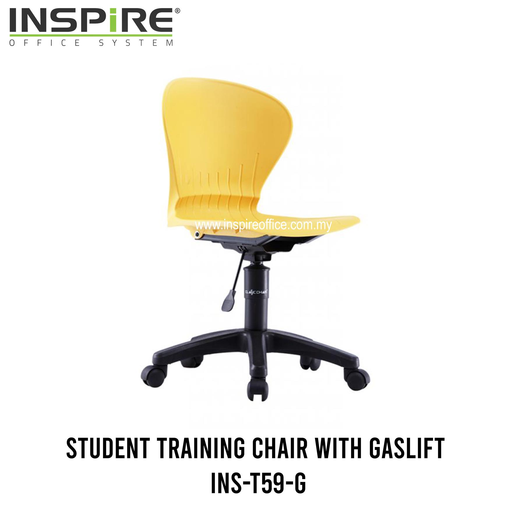 INS-T59-G Training/Student Chair With Gaslift
