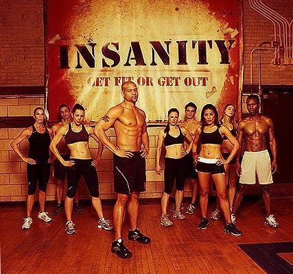 Insanity Beachbody-The Ultimate Workout for Serious Results! 5DVDs+1CD