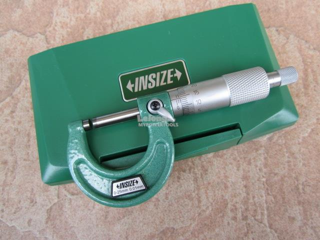 Insize 0-25mm Outside Micrometer