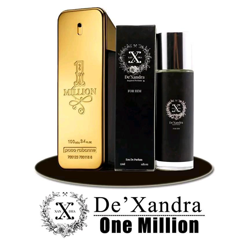 INSPIRED PERFUME Dexandra For Him Inspired by Paco Rabbane One Million