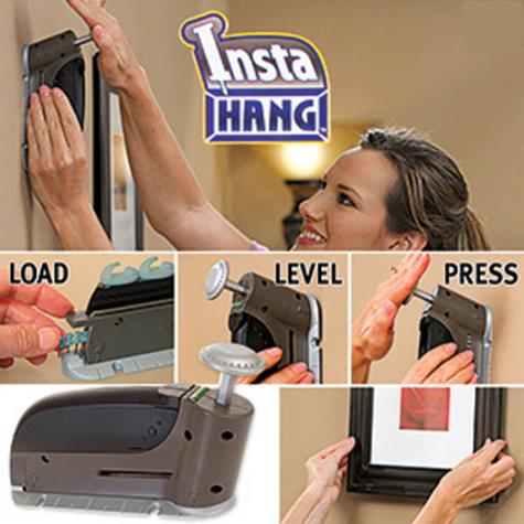 INSTA HANG Wall Hook Hangers.Hang Virtually Anything In Seconds!