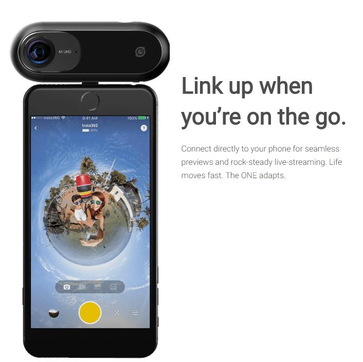 INSTA360 ONE 360 DEGREE VR CAMERA (IPHONE)