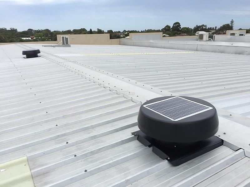 Installation of FA Solar Attic Ventilator 40-watt (GERMANY)