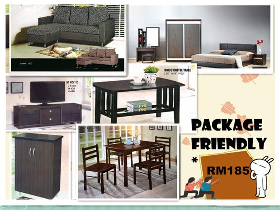 INSTALLMENT PLAN 7 IN 1 HOME FURNITURE PACKAGE FRIENDLY