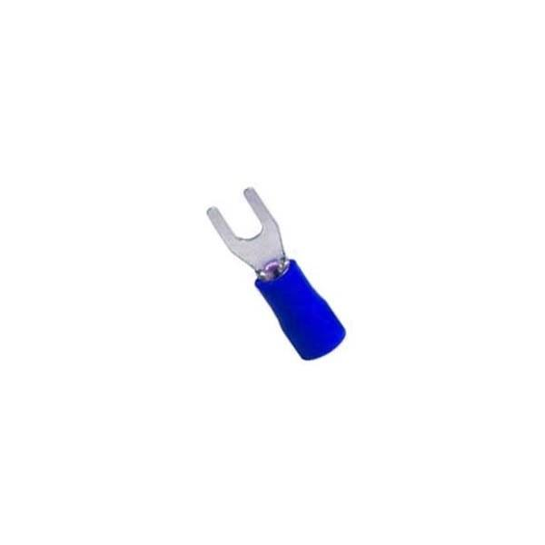 Insulated Terminal (Fork) 3mm / Blue