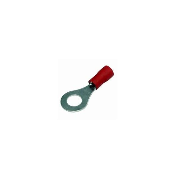 Insulated Terminal (Ring) 5mm / Red