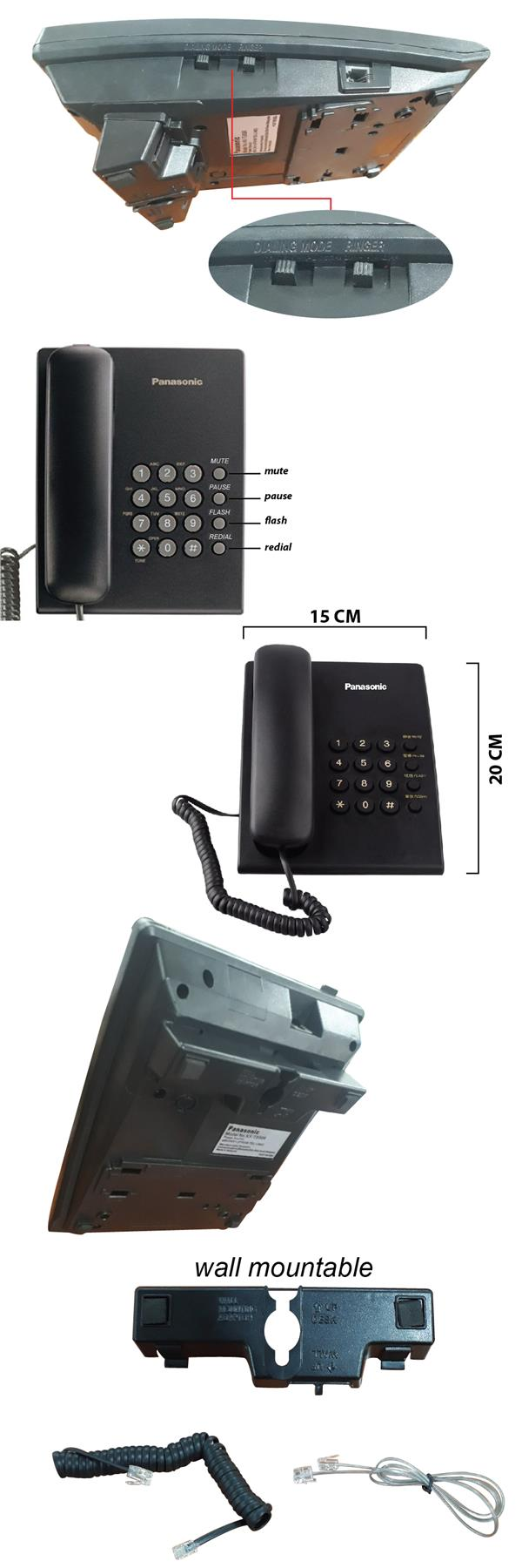 Integrated Telephone System KX-TS50 (end 11/22/2018 4:15 PM)