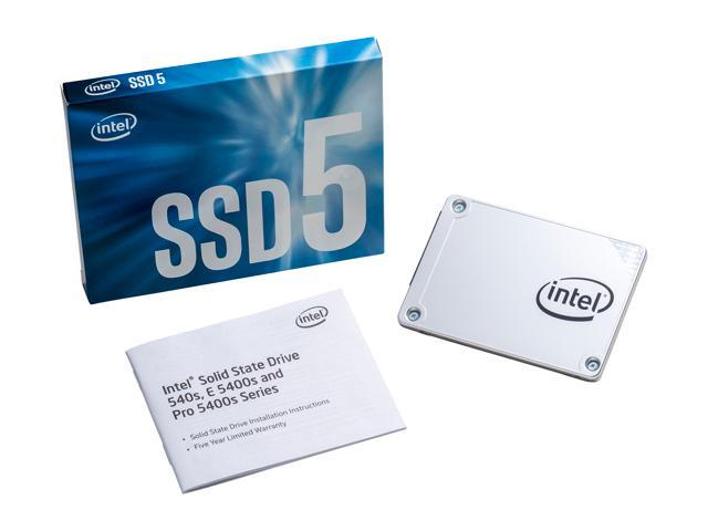 # Intel 540s Series 2.5' SATA III TLC SSD # 120GB | 240GB