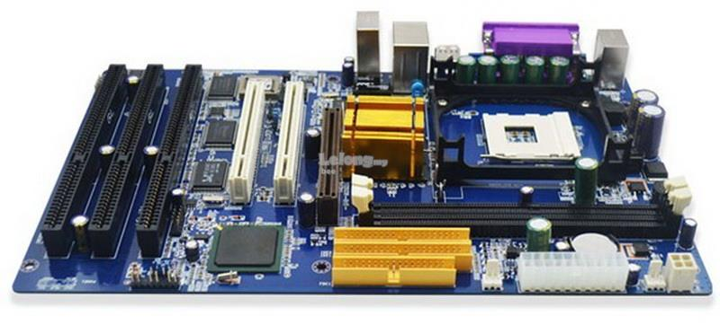 INTEL 845GV ISA SLOT PC DESKTOP MAINBOARD WITH 3 ISA SLOT