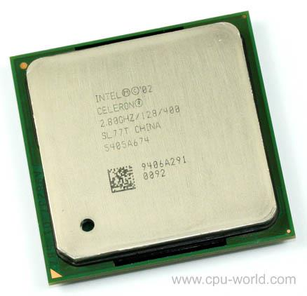 Intel Celeron 2.8GHz Processor 2.80GHz 128KB L2 400MHz FSB Socket 478