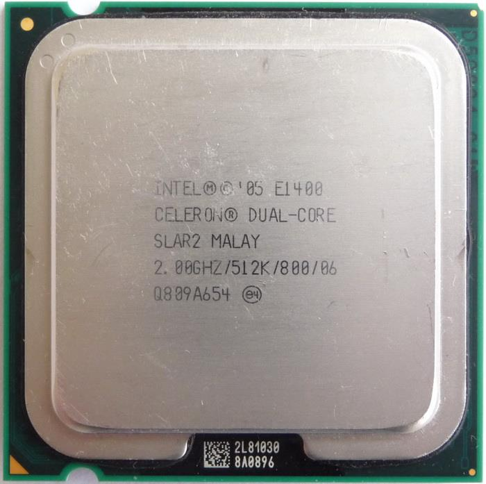 Intel Celeron E1400 Processor 2.00GHz 512KB L2 800MHz FSB Socket 775