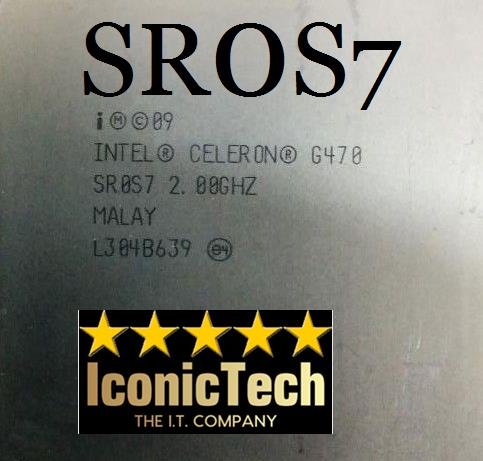 Intel Celeron Processor G470 #SR0S7# (Used)