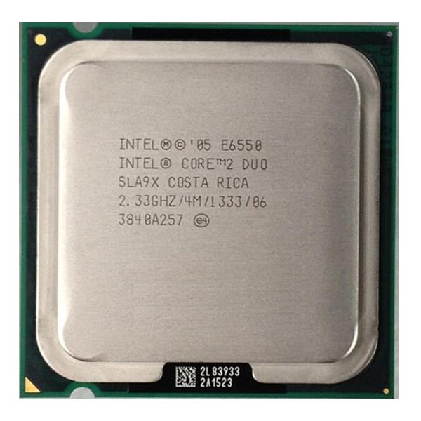 Intel Core 2 Duo E6550 Processor 2.33GHz 4M 1333MHz FSB LGA775 SLA9X