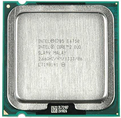 Intel Core 2 Duo E6750 Processor 2.66GHz 4M 1333MHz FSB LGA775 SLA9V