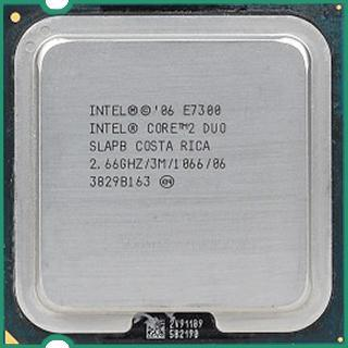 Intel Core 2 Duo E7300 Processor 2.66GHz 3M 1066MHz FSB LGA775