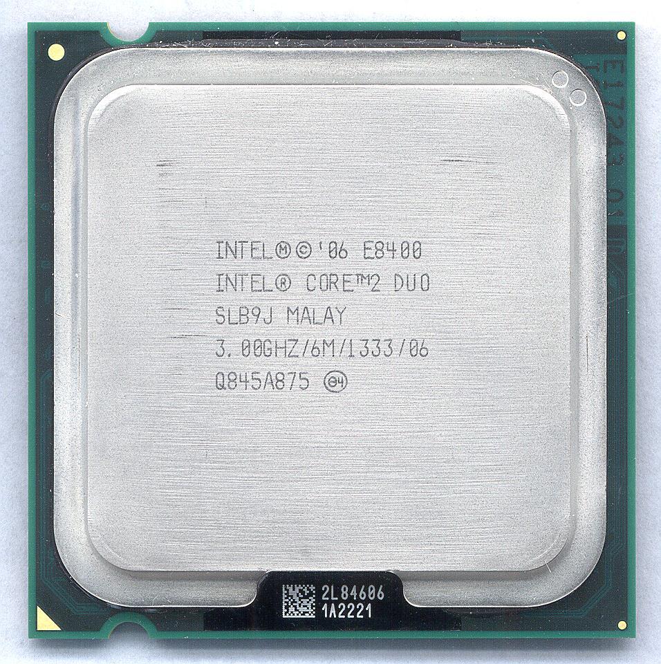 Intel Core 2 Duo E8200 E8300 E8400 E8500 E8600 LGA//775 Processor CPU