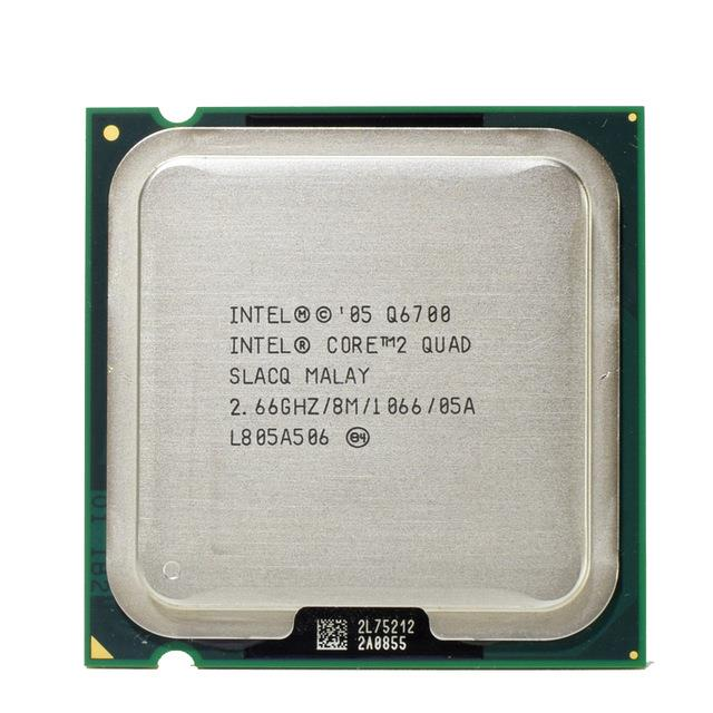 Intel Core 2 Quad Q6700 Processor 2.66GHz 8M 1066MHz FSB LGA775 SLACQ