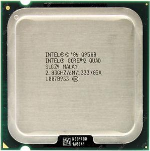 Intel Core 2 Quad Q9500 Processor 2.83GHz 6M 1333MHz FSB LGA775 SLGZ4