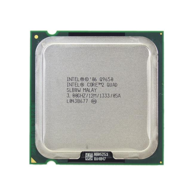 Intel Core 2 Quad Q9650 Processor 3.0GHz 12M 1333MHz FSB LGA775 SLB8W