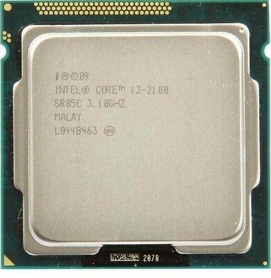 Intel Core i3-2100 3.10GHz  Socket 1155 CPU Desktop Processor