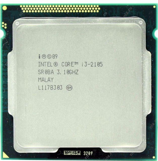 Intel Core i3-2105 Processor 3.10GHz 2M 5GTs LGA1155