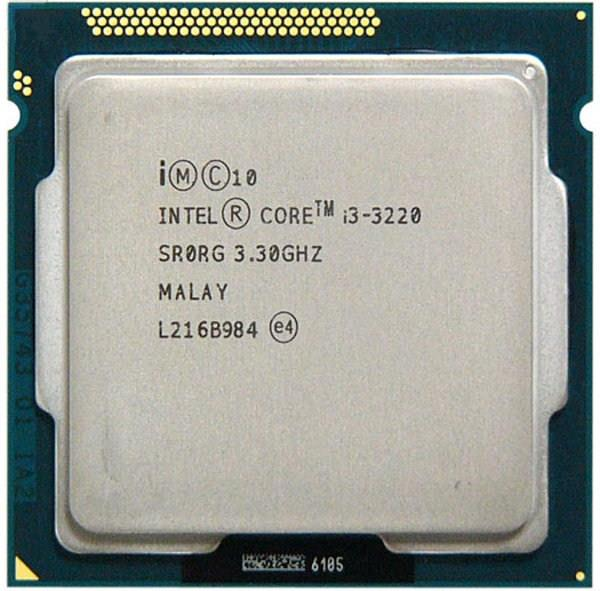 Intel Core i3-3220 Processor LGA 11 (end 4/13/2018 11:16 PM)