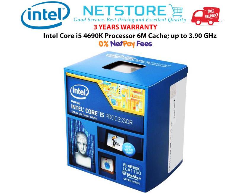 Intel Core i5 4690K Processor 6M Cache
