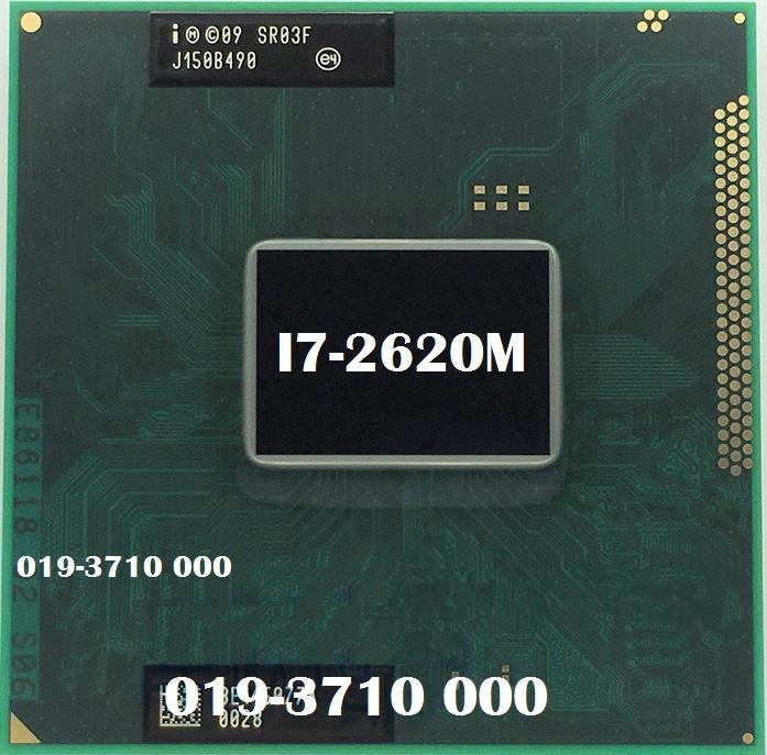 Intel Core i7-2620M FCBGA1023, PPGA988 Mobile Laptop Processor For NB