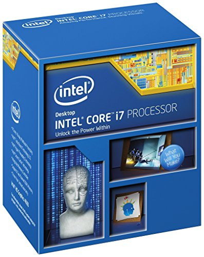 Intel Core i7-5820K Desktop Processor (6-Cores, 3.3GHz, 15MB Cache, Hyper-Thre