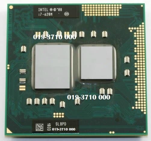 Intel Core i7 620M 2.66GHz 4M Socket G1 Mobile Laptop Processor For NB