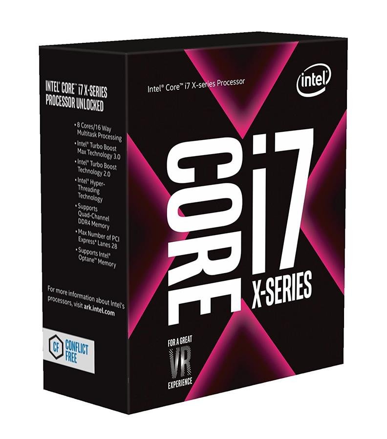 # Intel Core i7-7820X 8-Core Skylake X Processor # LGA 2066
