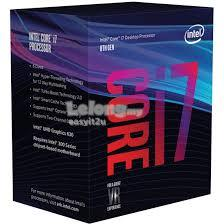 INTEL CORE I7 8700K PROCESSOR (12M CACHE; UP TO 4.70 GHz)