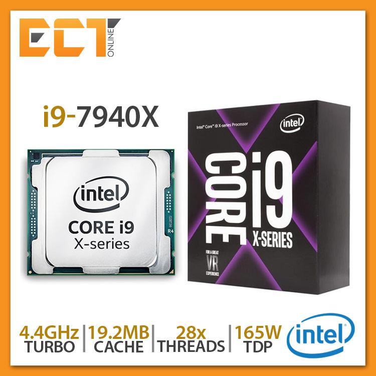 Intel Core i9-7940X Desktop Processor (4.30Ghz, 19.25MB SmartCache, 28