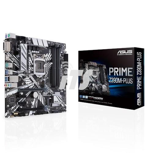 Intel Core i9-9900KF 9th Gen CPU + Asus PRIME Z390M-PLUS Mainboard