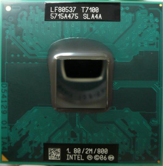Intel Core2 Duo Processor T7100 2M Cache 180 GHz 800 MHz FSB ALA4A
