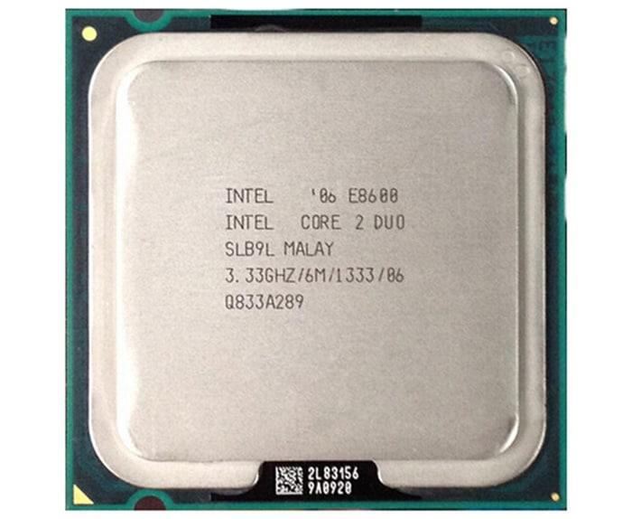 Intel Core2Duo E8600 Processor 3.33GHz 6M 1333MHZ FSB Socket 775