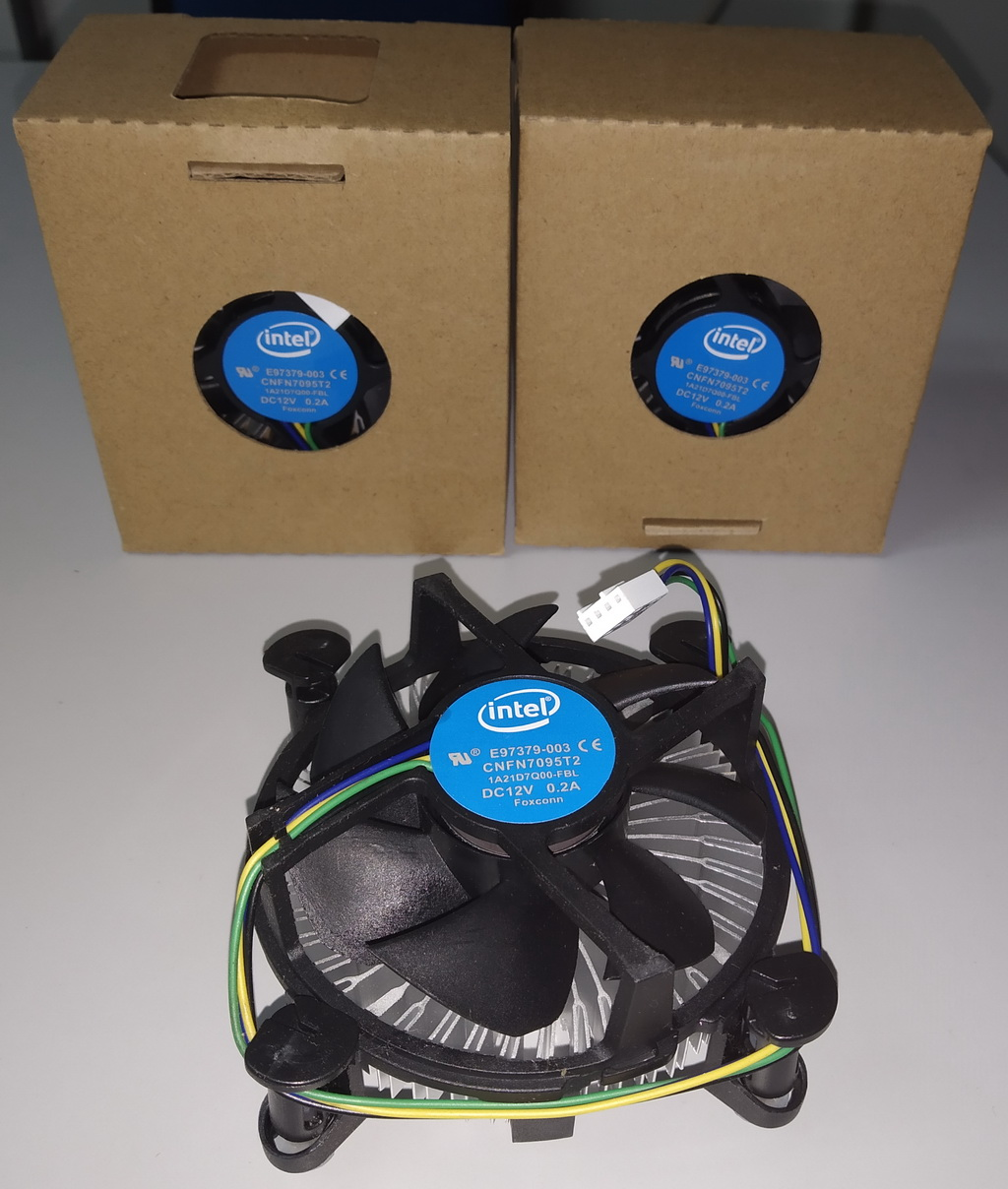 Intel CPU Heatsink  Fan