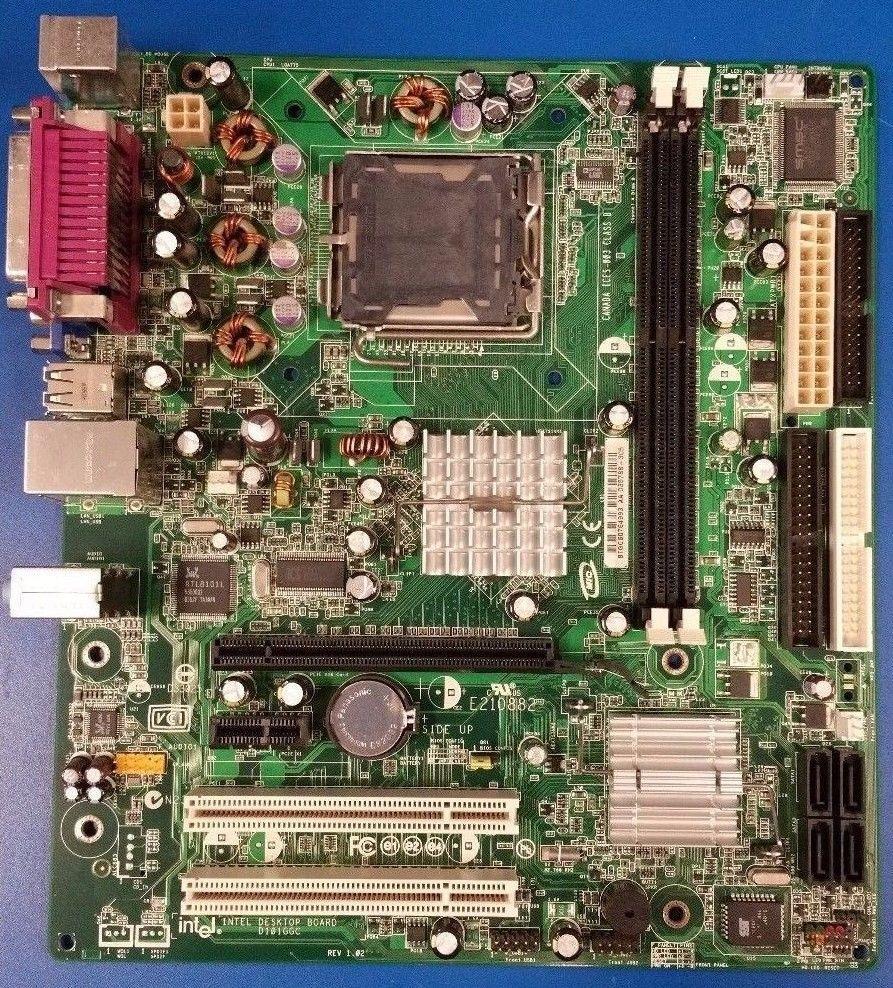 Intel Desktop Board D101GGC