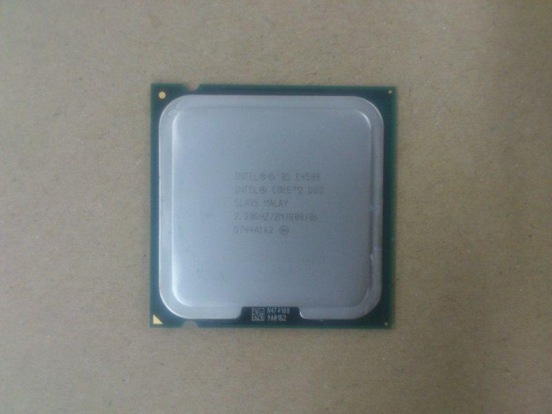 Intel E4500 2.2Ghz Core 2 Duo 775 Processor 010313