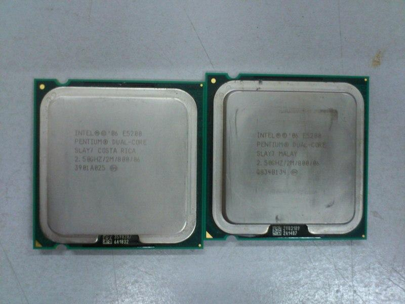 Intel E5200 Dual Core 2.5Ghz Processor 2500512