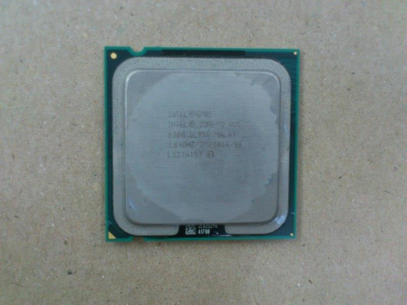 Intel E6300 1.86Ghz Core 2 Duo Socket LGA775 Processor 050614
