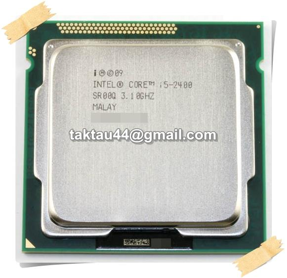 intel i5-2400 Processor (6M Cache, up to 3.40 GHz) , Socket 1155