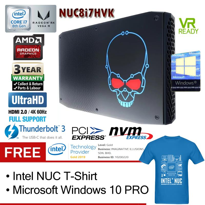 Intel NUC Hades Canyon NUC8i7HVK i7 (end 9/21/2019 3:19 PM)