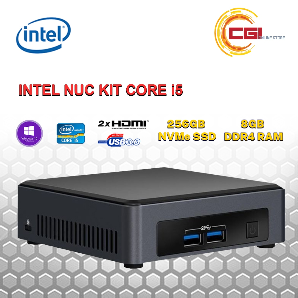 Intel NUC Kit Core i5 - BLKNUC7i5DNKPC3