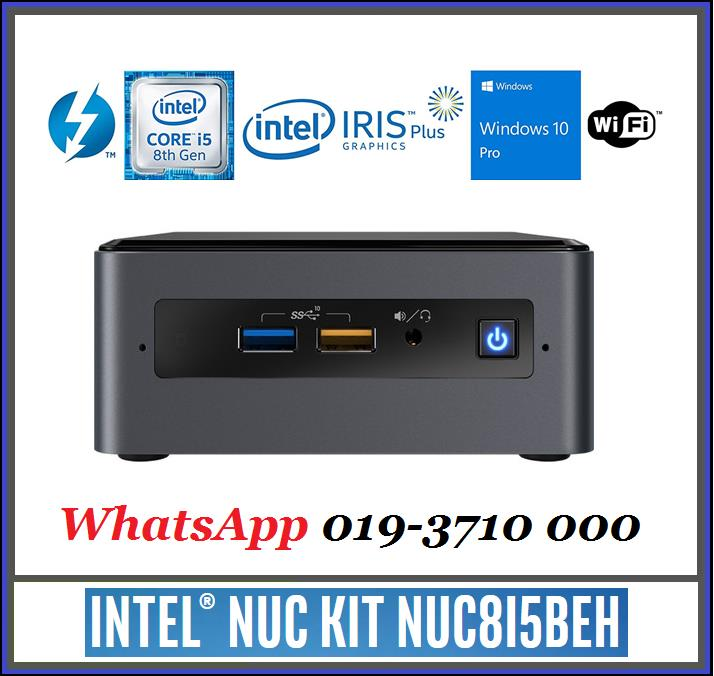 Intel NUC NUC8i5BEH Core i5 3 8GHz Quad-Core Mini PC (Special Bundle)