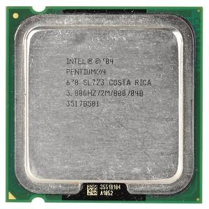 Intel® Pentium 4 670 3.8GHz 2MB Socket 775 LGA775 processor